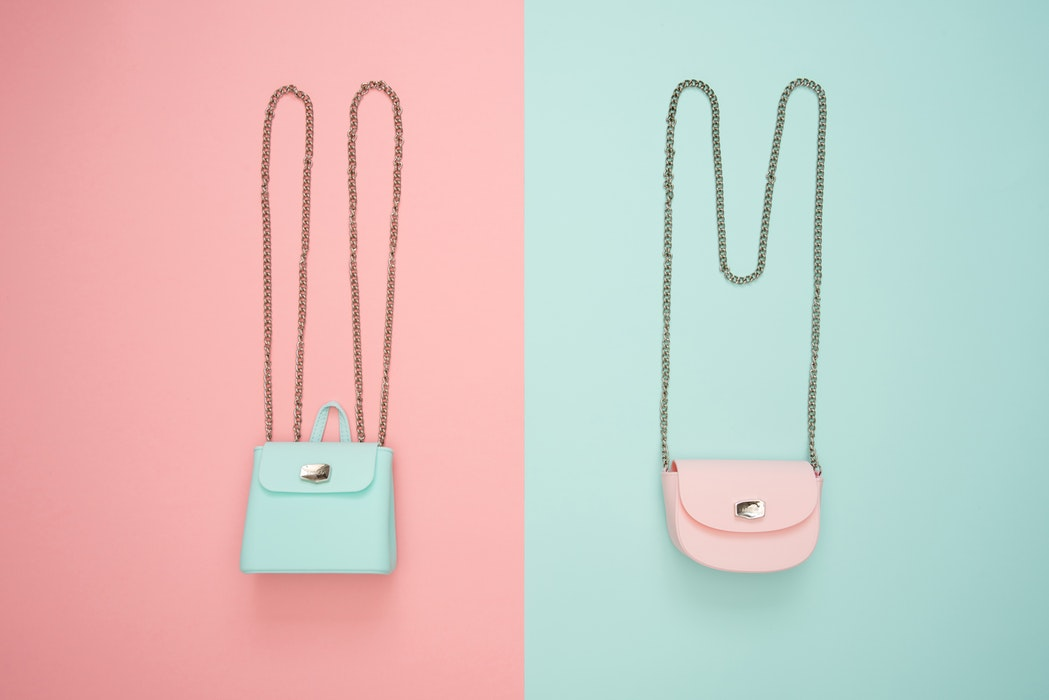 pastelowe torebki